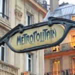 План — схема парижского метро